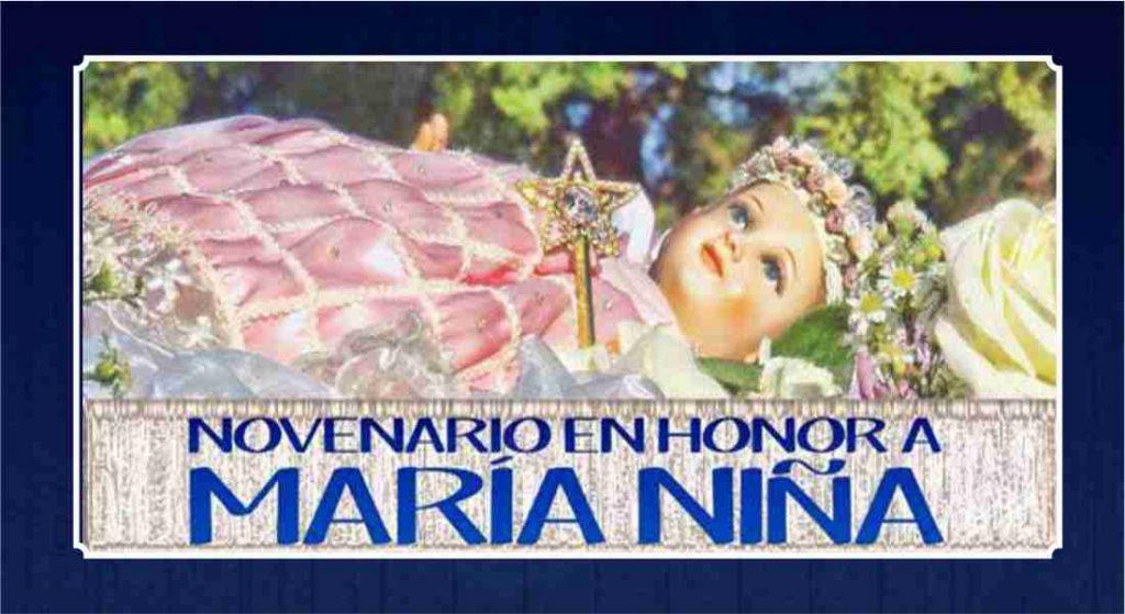 SOLEMNE NOVENARIO EN HONOR A MARIA NIÑA